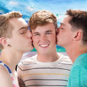 Gay Twinks Having A Threesome