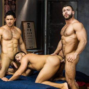 Gay Porn Stars Having A Threesome